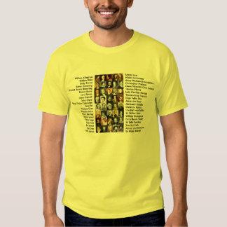 Famous Poets T Shirt