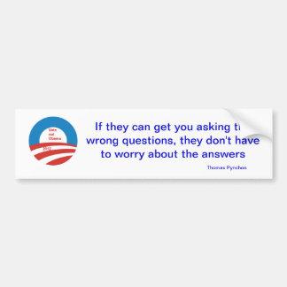 Famous quotes Bumper Sticker