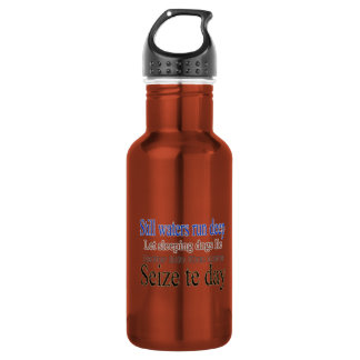 Famous Quotes Sayings 18oz Water Bottle