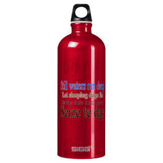 Famous Quotes Sayings SIGG Traveler 1.0L Water Bottle