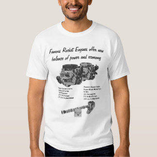 Famous Rocket Engines. Shirt