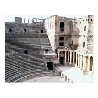 Famous Roman Theater, Bosra, Syria Postcard