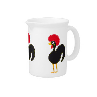 Famous Rooster of Barcelos 01 Drink Pitcher