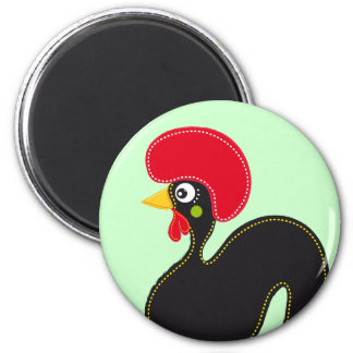 Famous Rooster of Barcelos 01 Magnets