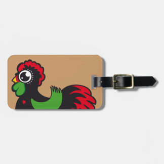 Famous Rooster of Barcelos 03 Luggage Tag