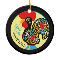 Famous Rooster of Barcelos #06 - Galo Barcelos Ceramic Ornament