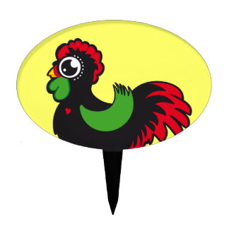 Famous Rooster of Barcelos Nr 03 Cake Topper