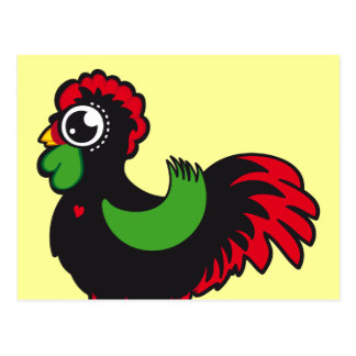 Famous Rooster of Barcelos Nr 03 Postcard