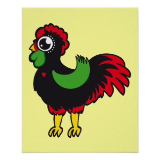 Famous Rooster of Barcelos Nr 03 Poster