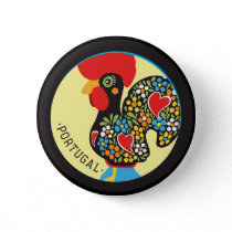 Famous Rooster of Barcelos Nr 06 Button