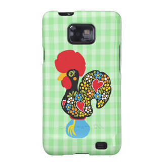 Famous Rooster of Barcelos Nr 06 Samsung Galaxy SII Cover