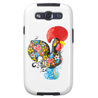Famous Rooster of Barcelos Nr 06 - Floral edition Samsung Galaxy S3 Cover