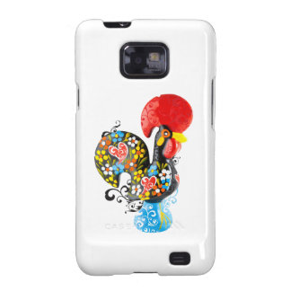 Famous Rooster of Barcelos Nr 06 - Floral edition Samsung Galaxy S2 Case