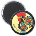 Famous Rooster of Barcelos Nr 06 Fridge Magnets