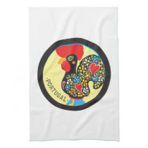 Famous Rooster of Barcelos Nr 06 Hand Towel