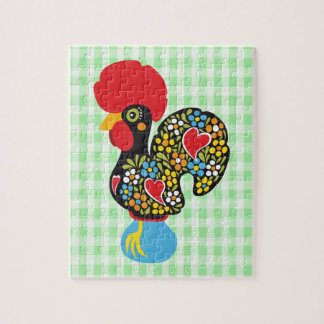 Famous Rooster of Barcelos Nr 06 Jigsaw Puzzle
