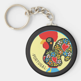 Famous Rooster of Barcelos Nr 06 Keychain