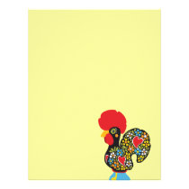 Famous Rooster of Barcelos Nr 06 Letterhead