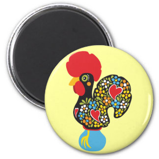 Famous Rooster of Barcelos Nr 06 Fridge Magnets