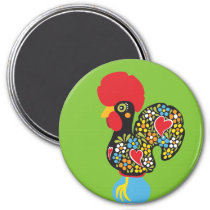 Famous Rooster of Barcelos Nr 06 Magnet