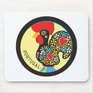 Famous Rooster of Barcelos Nr 06 Mouse Pad