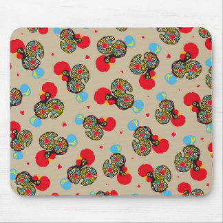 Famous Rooster of Barcelos Nr 06 Pattern Mouse Pad