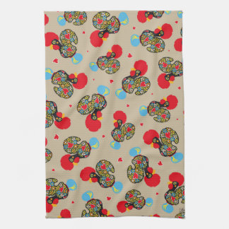 Famous Rooster of Barcelos Nr 06 Pattern Towel