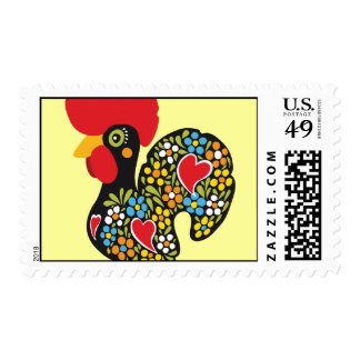 Famous Rooster of Barcelos Nr 06 Postage Stamps