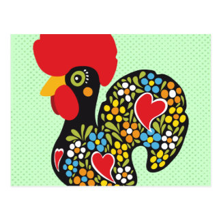 Famous Rooster of Barcelos Nr 06 Postcard