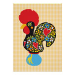 Famous Rooster of Barcelos Nr 06 Poster