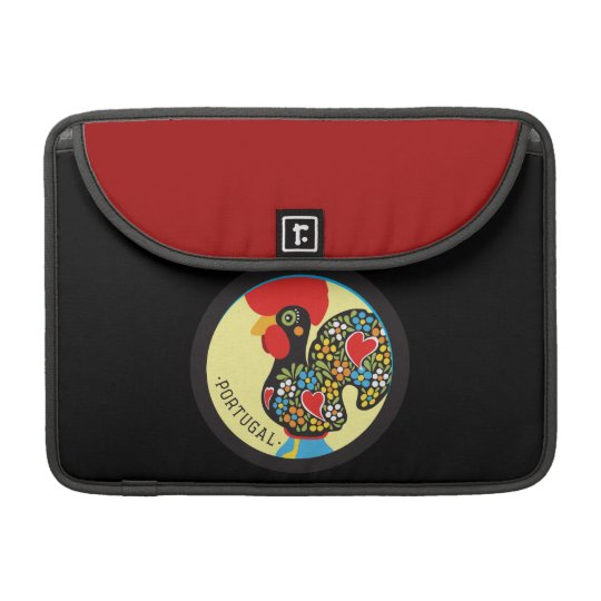 Famous Rooster of Barcelos Nr 06 Sleeve For MacBook Pro