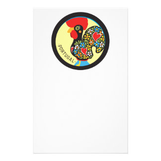Famous Rooster of Barcelos Nr 06 Stationery