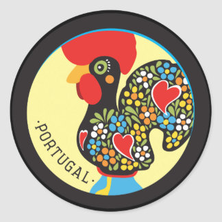 Famous Rooster of Barcelos Nr 06 Stickers