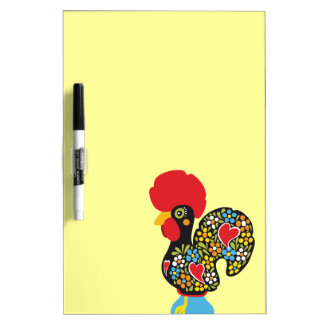 Famous Rooster of Barcelos Nr 06 - TBA Dry Erase Board