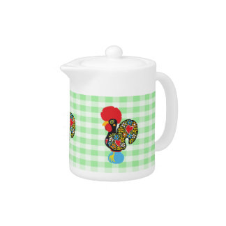 Famous Rooster of Barcelos Nr 06 Teapot