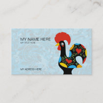 Famous Rooster of Barcelos Nr 09 Business Card
