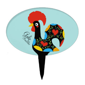 Famous Rooster of Barcelos Nr 09 Cake Topper