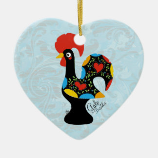 Famous Rooster of Barcelos Nr 09 Ceramic Ornament