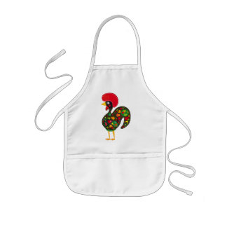 Famous Rooster of Barcelos Nr 2 Aprons
