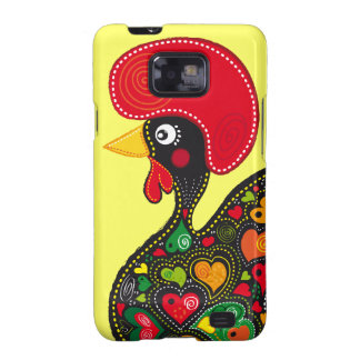 Famous Rooster of Barcelos Nr 2 Samsung Galaxy SII Case