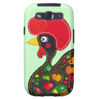 Famous Rooster of Barcelos Nr 2 Samsung Galaxy S3 Cover