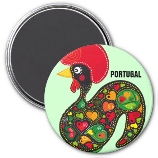 Famous Rooster of Barcelos Nr 2 Magnet