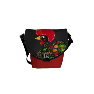 Famous Rooster of Barcelos Nr 2 Courier Bags
