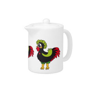 Famous Rooster of Barcelos Nr 5 Teapot