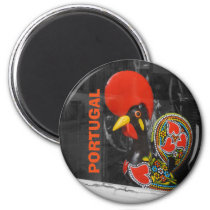 Famous Rooster of Barcelos Photo - Portugal Magnet