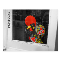 Famous Rooster of Barcelos Photo - Portugal Postcard