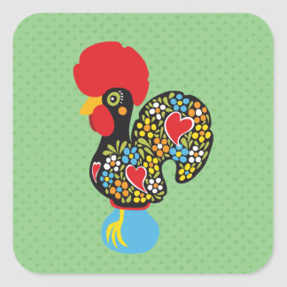 Famous Rooster of Barcelos Portugal Nr. 06 Stickers