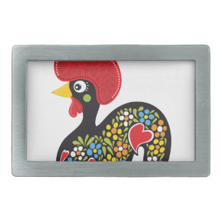Famous Rooster of Barcelos Portugal Nr. 07 Belt Buckle