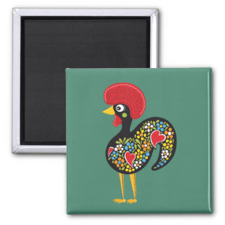 Famous Rooster of Barcelos Portugal Nr. 07 Magnet