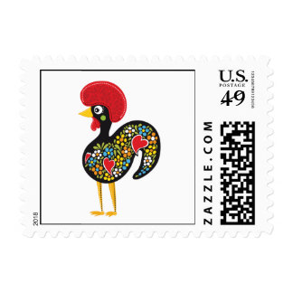 Famous Rooster of Barcelos Portugal Nr. 07 Postage